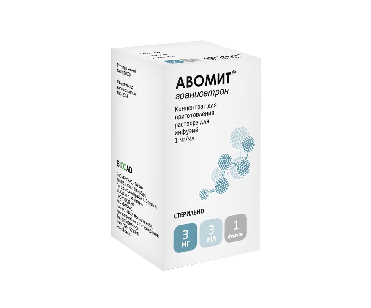 Авомит® (гранисетрон)