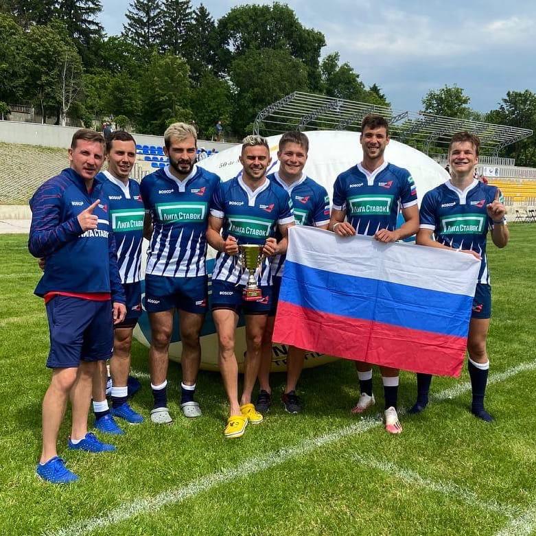 Резервная сборная России по регби-7 выиграла международный турнир в Молдавии!