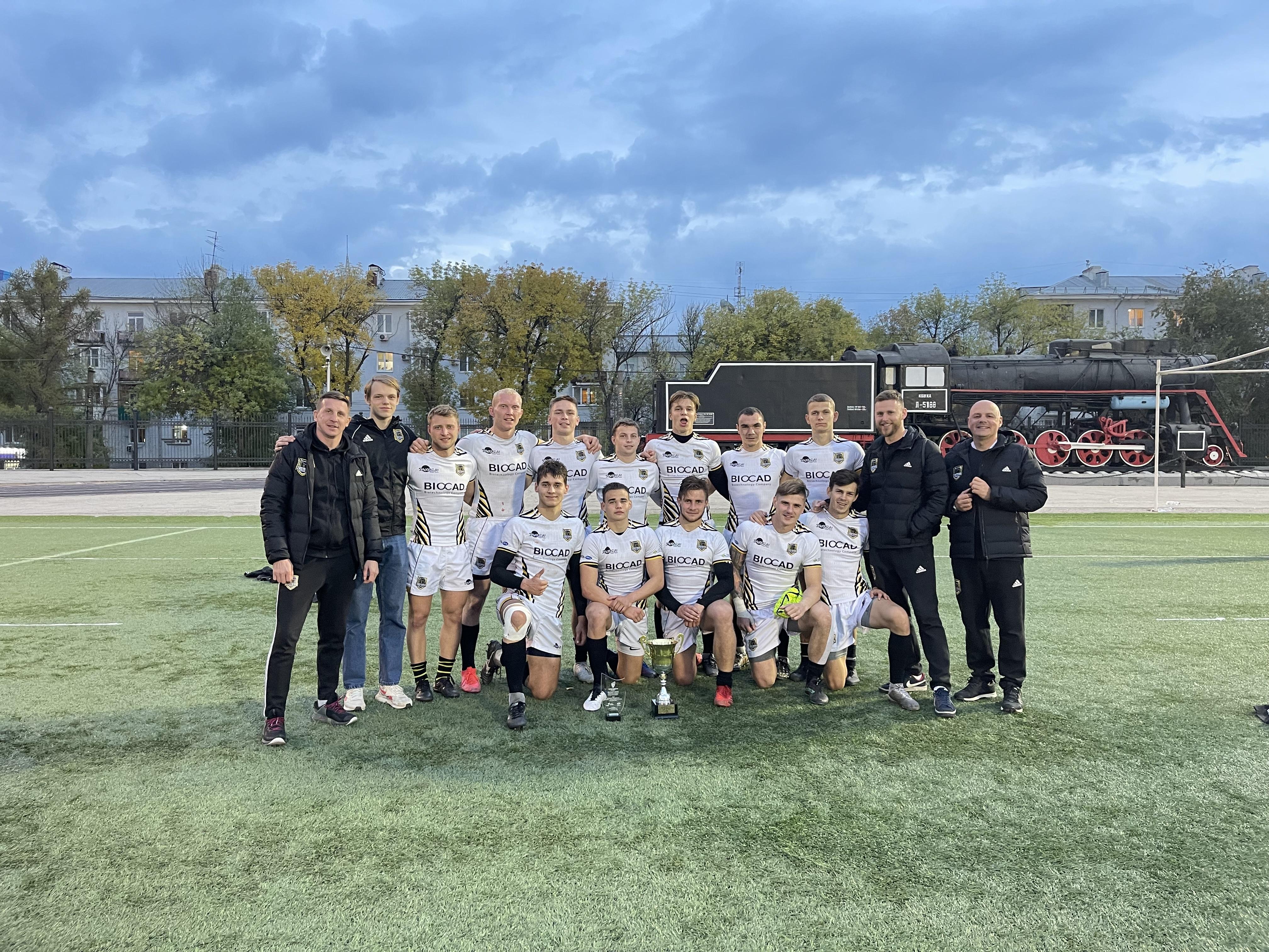 Завершился I тур Высшей лиги по регби-7 среди мужских команд! ZASTAVA заняла II место.